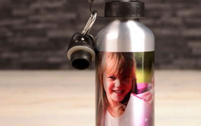 flasche silber